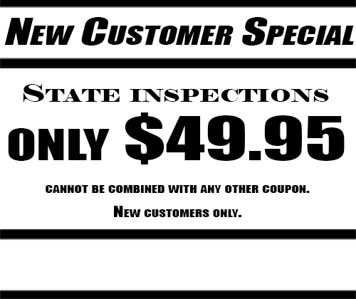 New Customer Special at Gelormini's Auto Repair