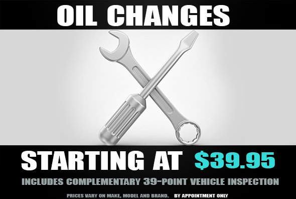 Oil Services at Gelormini's Auto Repair